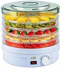 Kenwood Dehydrator for Food Fruit Electric Counter for Preserving (Polycarbonate, White)