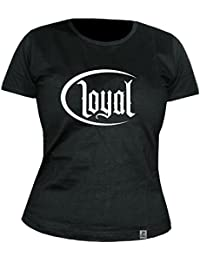 KONTRA K - Circle Loyal - Black - GIRLIE - Shirt