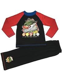 Thunderbirds–Pijama infantil de 2piezas, tamaño: 4–10años