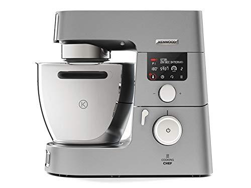 Kenwood - kcc9063s - Robot cuiseur multifonctions 6.7l 1500w métal avec hachoir et blender 1.8l en inox cooking chef gourmet