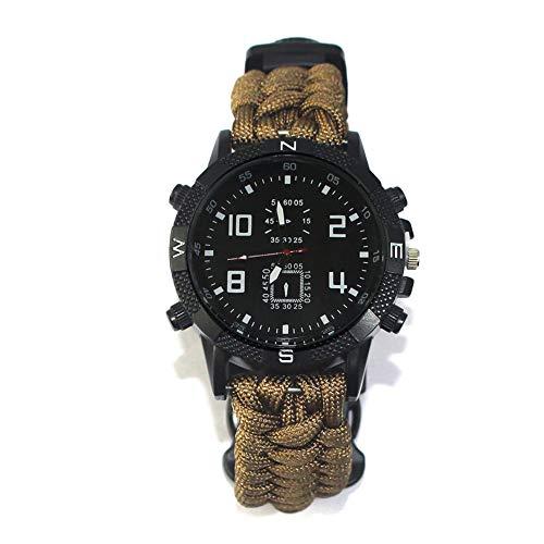 Nyyi Reloj Pulsera Multifunción Supervivencia Aire