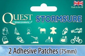 Stormsure selbstklebend Strip Wasserdicht Patch X 2 (Camp Patch)
