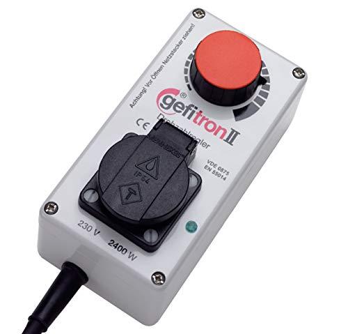 Elektronischer Drehzahlregler - 230V bis 2400 Watt | Drehzahl von Kreissägen und anderem Werkzeug stufenlos einstellen - Hergestellt in Deutschland -