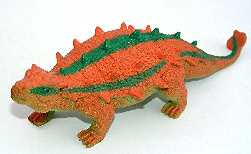 Mega Stretch Dionsaurier 20 cm ( Saichania ) Gummidesign Spieltier Gummitier spielen+sammeln Mitbringsel 4882