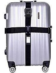 CSTOM® TSA Aprobado Correa para Maletas Equipajes con Codigo de Seguridad Viaje 800079