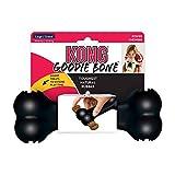 KONG - Extreme Goodie Bone- Osso gomma resistente cani con masticazione energica, nero - Taglia L