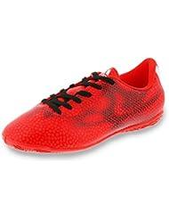 adidas Zapatilla Jr F5 IN Solar red-White-Black