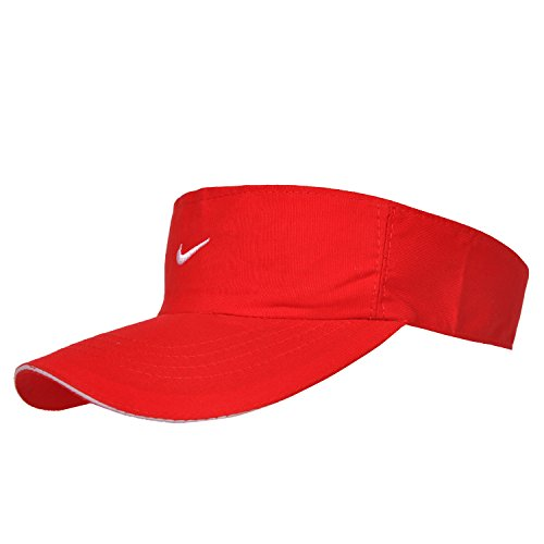 Kaarq New Nike Tennis Cotton Cap for Women (Red)  available at amazon for Rs.299