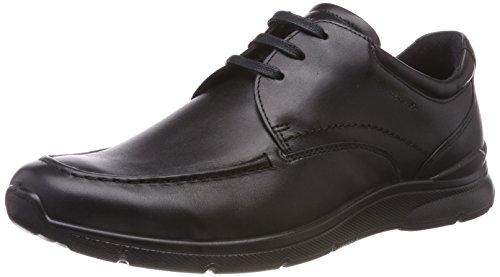 ECCO Herren Irving Mokassin, Schwarz (Black 01001), 42 EU Black Leather Moc Toe