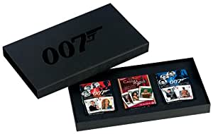James Bond Luxusset (inkl. 3 Filmdecks)