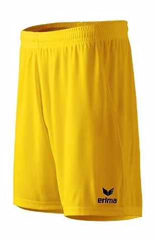 erima Herren Shorts Rio 2.0 mit Innenslip, gelb, XXL (1),