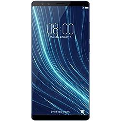 """Archos Diamond Omega - Smartphone de 5.73"""" (Octa-Core Qualcomm Snapdragon S835, memoria interna de 128 GB, 8 GB de RAM, dos cámaras posteriores de 12 y 23 MP, Android 7.1.1) azul marino"""