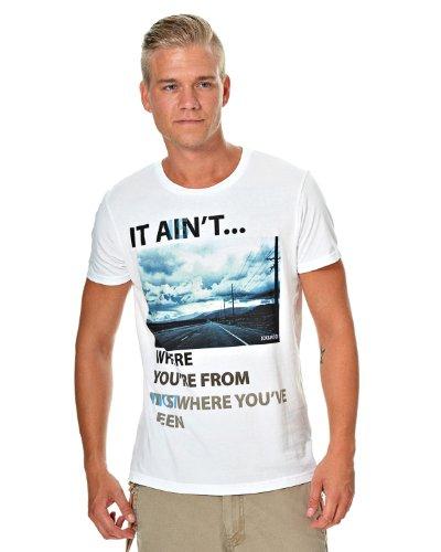 Jack & Jones T-Shirt Road Tee Weiß