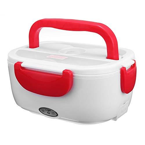 OIPIYUT Portable Chauffage électrique Boîte à Lunch Boîte à Lunch Voiture Voiture Chauffe-Plats Bureau d'école Vaisselle de ménage F