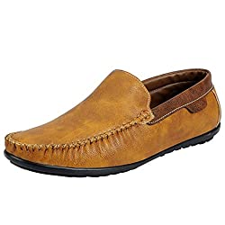 Fausto 3089-42 Tan Mens Loafers