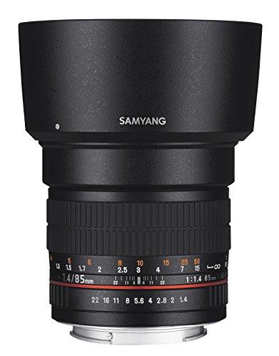 Samyang 85mm F1.4 Objektiv für Anschluss Sony Alpha