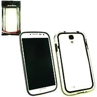 Emartbuy ® Samsung Galaxy S4 I9500 Geformt Stoßfeldfall Gel Cover / Case Schwarz / Klar