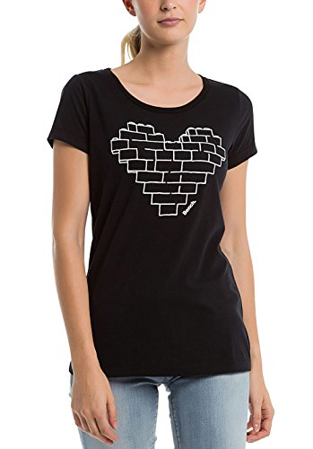 Bench Damen T-Shirt black beauty