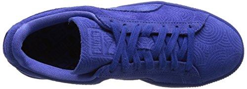 Puma Damen Classic Col Low-top Blau - Bleu (blu Abbagliante / Blu Abbagliante)