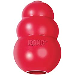 Classic Dog Toy, Medium, Red