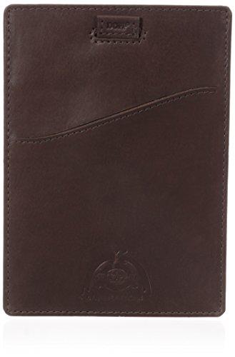 Dopp Herren Carson RFID Blocking Passport Sleeve - Braun - Einheitsgröße - Carson Pull