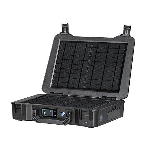Renogy Solarenergie Ladegerät 14,8V 16Ah Solarbatterie mit 2x10 Watt Solarmodul für Camping, RV,Boot, kleine - Portable-rv-generator