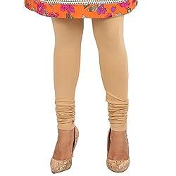 27 Ashwood Womens Cotton Lycra Leggings (27WSL1024_Skin_Medium)