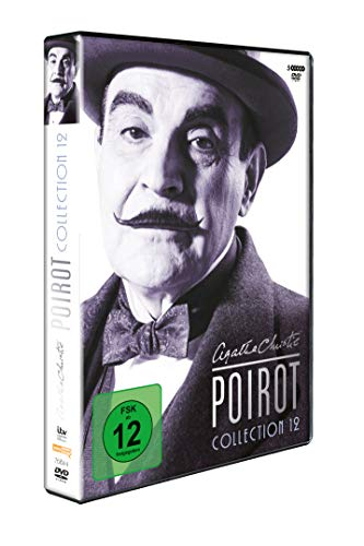 Agatha Christie - Poirot Collection 12 [5 DVDs]