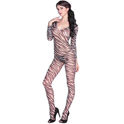 Wenrou europäische und amerikanische strümpfe, Zebra fingerabdrücke, v - Kragen, Lange ärmel, hohl, nur Kleidung