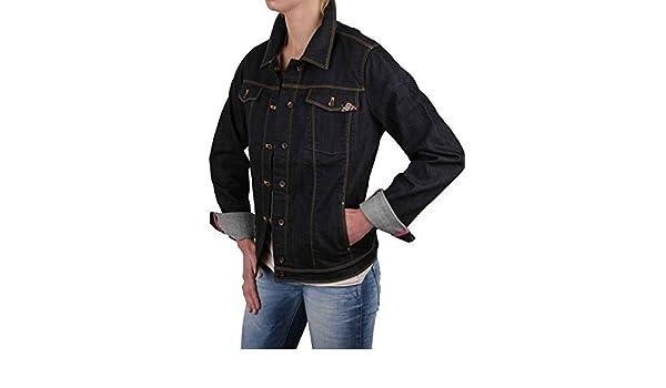 6174187996 Napapijri veste pour femme jeans veste en jean pour homme bleu foncé taille  xL #rIF028: Amazon.fr: Vêtements et accessoires