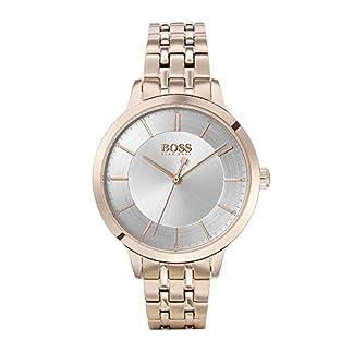 Hugo Boss Reloj Analógico para Mujer de Cuarzo con Correa en Acero Inoxidable 1502514