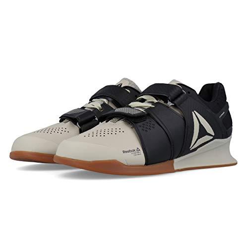 9d9715cf7e512 Reebok Legacylifter, Chaussures de Fitness Homme, Multicolore (Light  Sand/Black/Gum 000), 41 EU