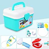 Shinehalo 36PCS Giocattolo da dottore dottoressa Imitation Game Doctor Kid Toy Kit medico Ruolo Giochi educativi