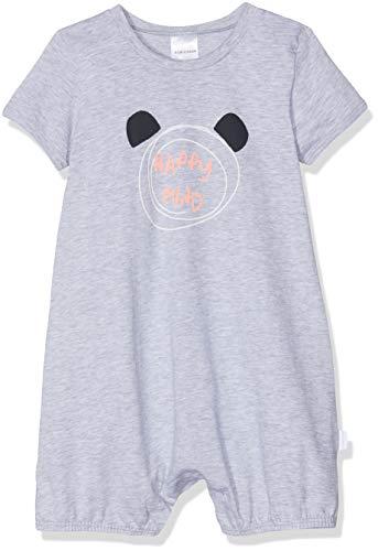Schiesser Jungen Baby Spieler 1/2 Zweiteiliger Schlafanzug, Grau-Mel. 202, 86 (Herstellergröße: 086)