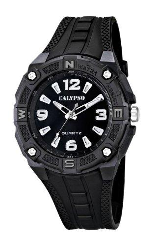 Calypso  watches cal-22859 – Reloj para hombres, correa de plástico color negro