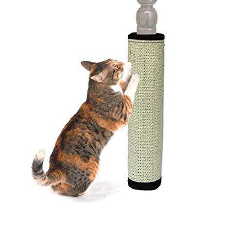 Gamloious Heiße sichere Cat Scratch Pad Brett schützen Möbel Fuß Natursisal Katze Kratz Spielzeug Katzen Katzenminze Turm Klettern (Heiße Katzen Katzenminze Spielzeug)