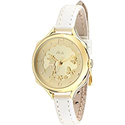 Fq-062 3D Genuine Leather Strap Cute Bowknot Rabbit Design Girls Lady Wrist Watches Gold