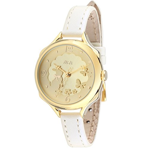 fq-062-3d-genuine-leather-strap-cute-bowknot-rabbit-design-girls-lady-wrist-watches-gold