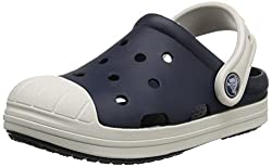 Crocs Boys Navy And Oyster Clogs and Mules - J3