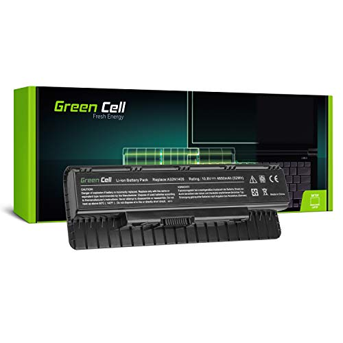 Green Cell® Standard Serie Laptop Akku für ASUS ROG G771JW-T7161T G771JW-T7197T G771JW-T7227T GL551 GL551J GL551JK GL551JK-CN126H GL551JK-CN128H (6 Zellen 4800mAh 10.8V Schwarz)
