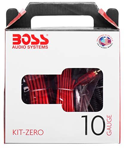 BOSS AUDIO KIT-ZERO 10 Gauge 2,6 mm