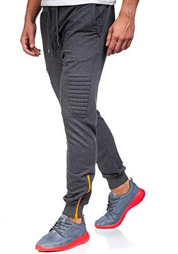 BOLF – Pantaloni sportivi – Training pantaloni – Sport – Jogging – Fitness – Uomo [6F6] Antracite