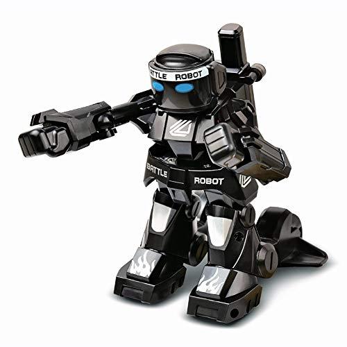 Traioy Robot de Combat télécommandé somatosensoriel 2.4g Double modèle de Combat concurrentiel Jouet Real Combat de Boxe,White