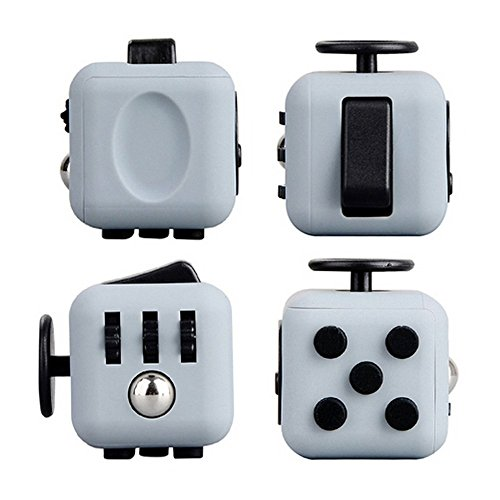 6-Sides Fidget Cube Relieve Stress, Anxiety, and Boredom for Children and Adults Anxiety Attention Toy
