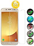 Smartphone-Equipment [2er Pack] Panzerglas für Samsung Galaxy J5 2017 Echt-Hartglas 9H, Glasfolie Schutzfolie Glas Folie Panzerfolie