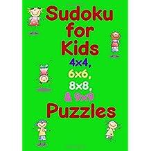 Sudoku for Kids 4x4, 6x6, 8x8, 9x9 Puzzles