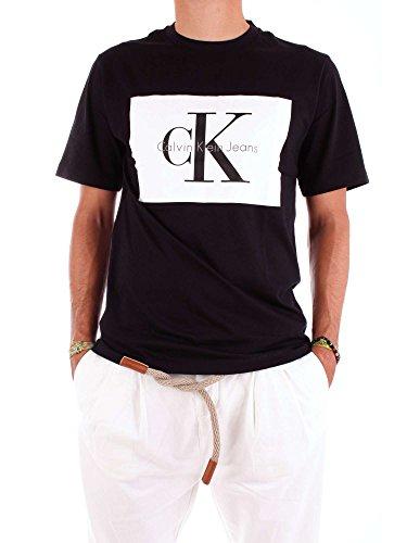 Calvin klein t-shirt hombre s black j30j307427-099-ts
