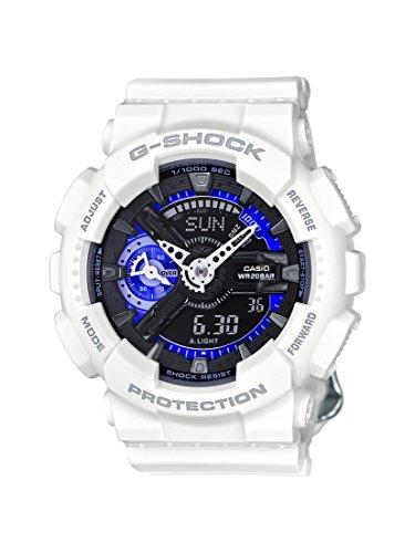 Casio G-Shock Armbanduhr Weiß und Blau GMA-S110CW-7A3ER GMA-S110CW-7A3ER