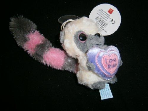 yoohoo-queue-rose-et-grise-de-4-pouces-avec-la-tasse-daspiration-de-coeur-lamour-de-maman