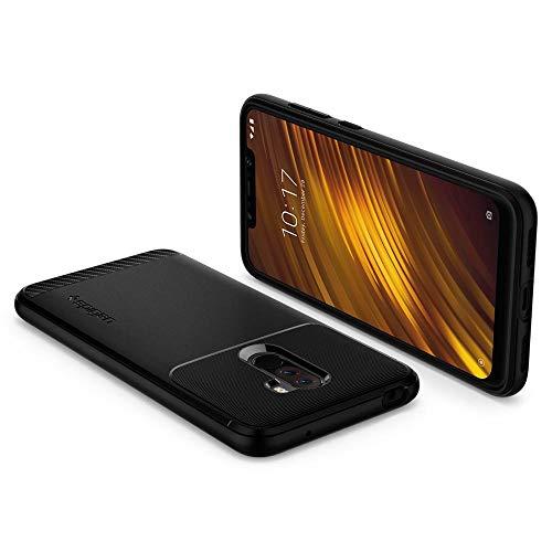 quality design 6dc1c 29da8 Spigen Rugged Armor Case for Xiaomi Poco F1 / Pocophone F1 (2018) - Matte  Black S23CS25224